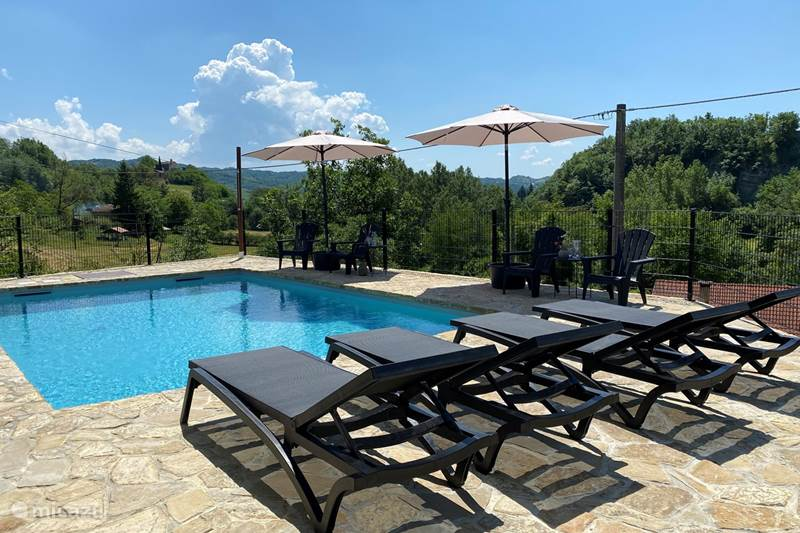 Vakantiehuis Italië, Piëmont, Mombaldone Villa Villa Ovrano
