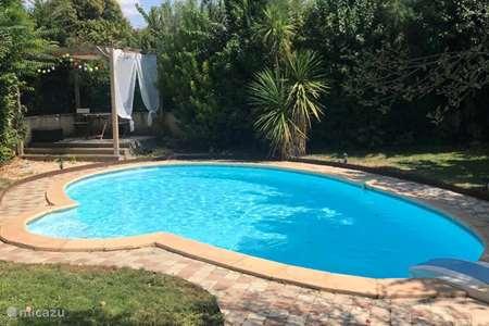 Ferienwohnung Frankreich, Aude, Ginestas villa Villa Roseraie