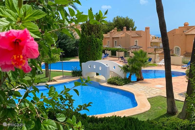 Vakantiehuis Spanje, Costa Blanca, Altea Hills Bungalow Dinamarca