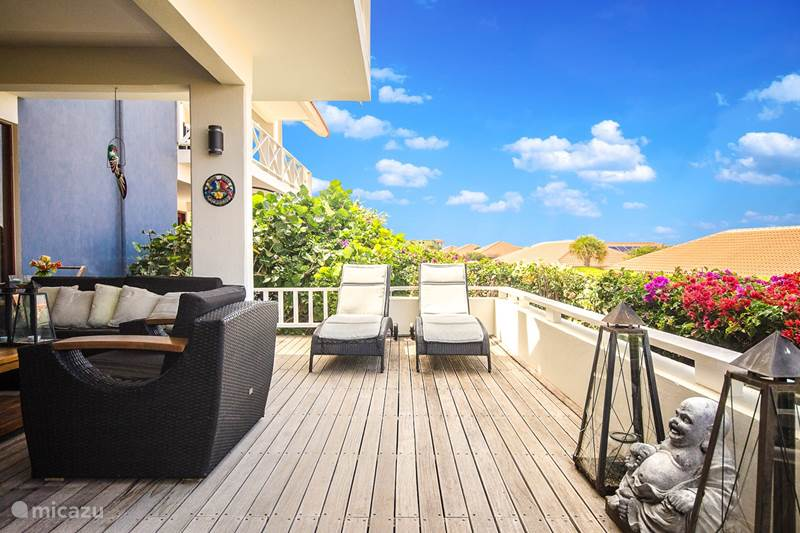 Vacation rental Curaçao, Banda Ariba (East), Jan Thiel Apartment Luxury apartment, sea view, pool!
