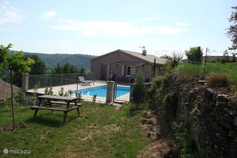 Vacation rental France, Ardèche, Les Vans Holiday house Le Cypres