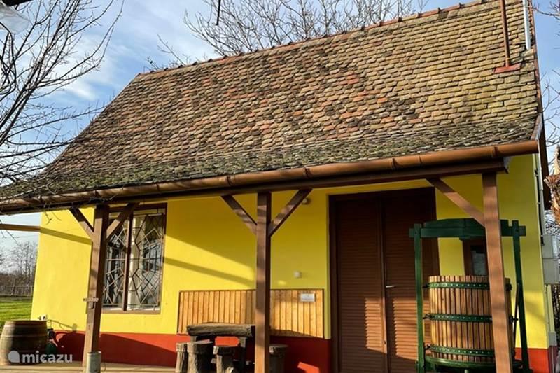 Vakantiehuis Hongarije, Baranya, Mohács Vakantiehuis Het Hongaarse Wijnhuis