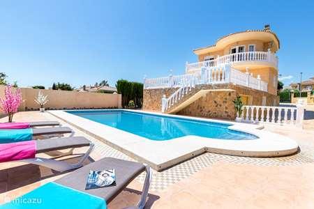 Vakantiehuis Spanje, Costa Blanca, Alfáz del Pi villa Alfaz Family Sky