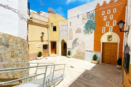 Vakantiehuis Spanje, Costa Blanca, Calpe stadswoning Casa San Roque