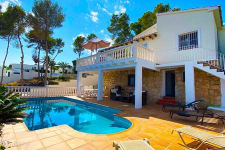 Vacation rental Spain, Costa Blanca, Moraira villa Casa Martin Pescador