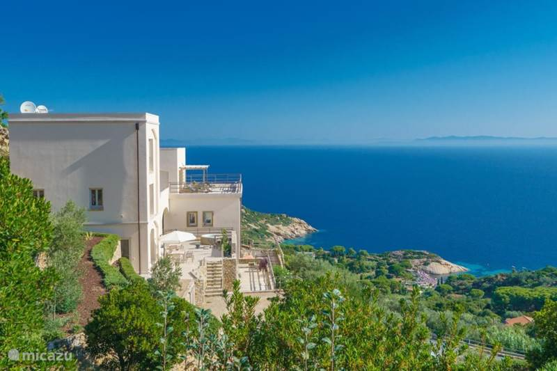 Vakantiehuis Italië, Toscane, Isola del Giglio Appartement Panoramica