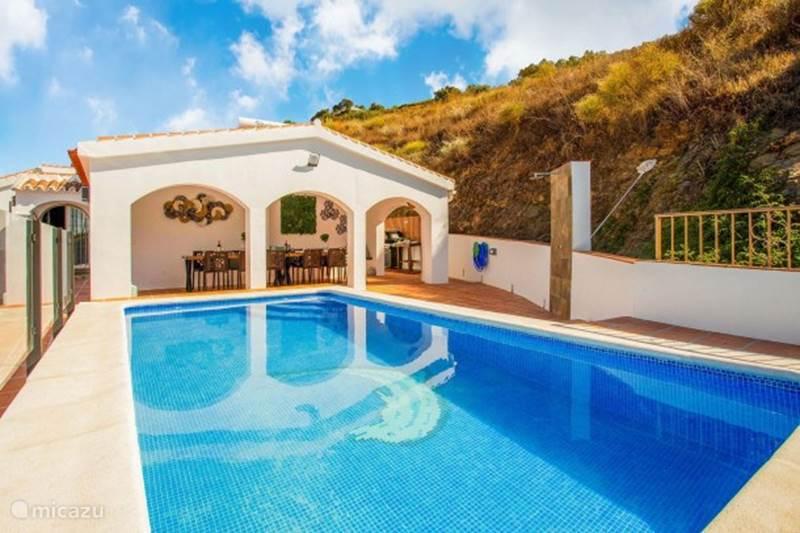 Vakantiehuis Spanje, Andalusië, Cómpeta Vakantiehuis Villa Franca