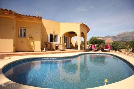 Vakantiehuis Spanje, Costa Blanca, La Nucia villa Libelle