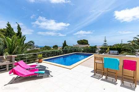 Vakantiehuis Spanje, Costa Blanca, Benissa villa Azur