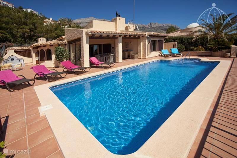 Vakantiehuis Spanje, Costa Blanca, Callosa d'en Sarrià Villa Buen Lugar
