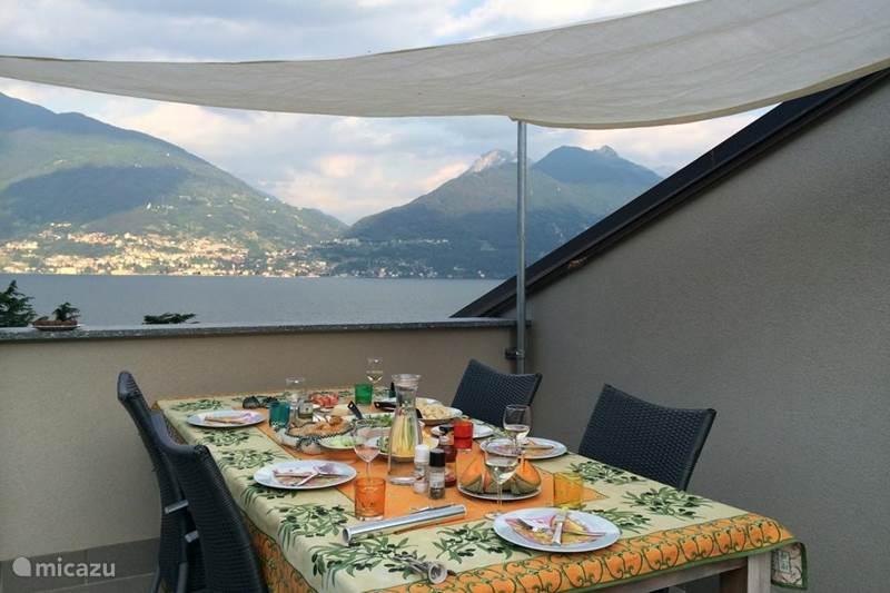 Vakantiehuis Italië, Comomeer, San Siro Appartement Vista da Sogno