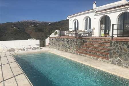 Vakantiehuis Spanje, Andalusië, Cómpeta appartement Wabi Sabi Casa Rural