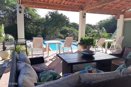 Ferienwohnung Aruba, Zentral-Aruba, Santa Cruz appartement Leguan Cabana