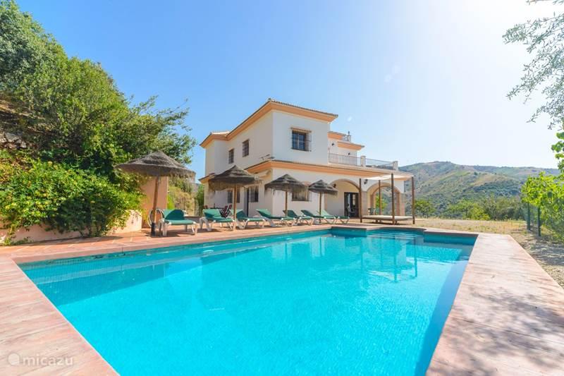 Vakantiehuis Spanje, Costa del Sol, Comares Villa Villa Las Palomeras