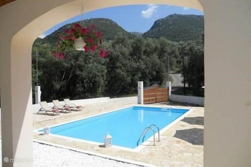 Vakantiehuis Griekenland, Corfu, Acharavi Villa Fedrita