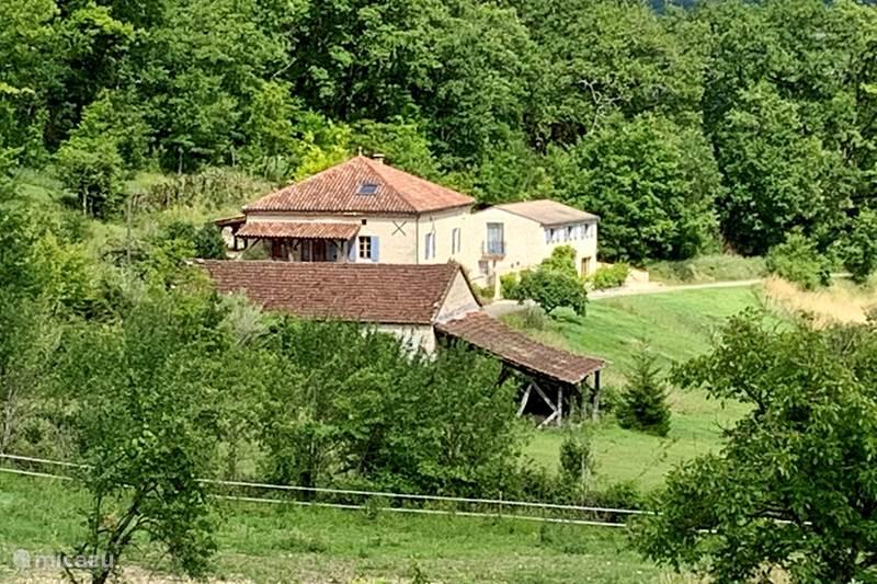 Vakantiehuis Frankrijk, Lot, Saint-Cyprien Gîte / Cottage Les Breziers