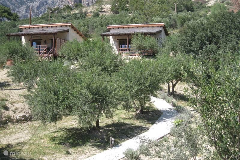 Vakantiehuis Griekenland, Kreta, Koutsouras Gîte / Cottage Kalyvitis huisje in de natuur 1
