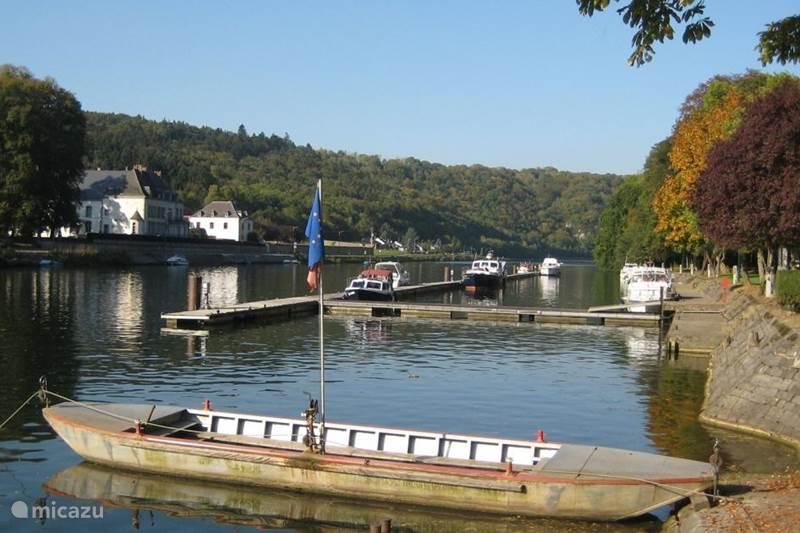 Vakantiehuis België, Ardennen, Waulsort Camper / Jacht / Woonboot Houseboat Experience