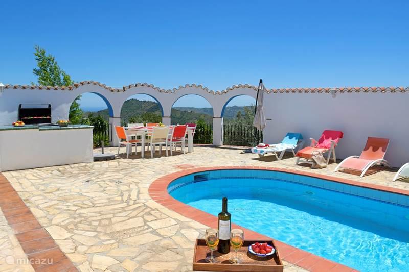 Vakantiehuis Spanje, Costa del Sol, Comares Villa Casa Las Brisas