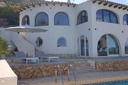 Vacation rental Spain, Costa Blanca, Benitachell holiday house Casa Lowis - Ibiza style - sea view
