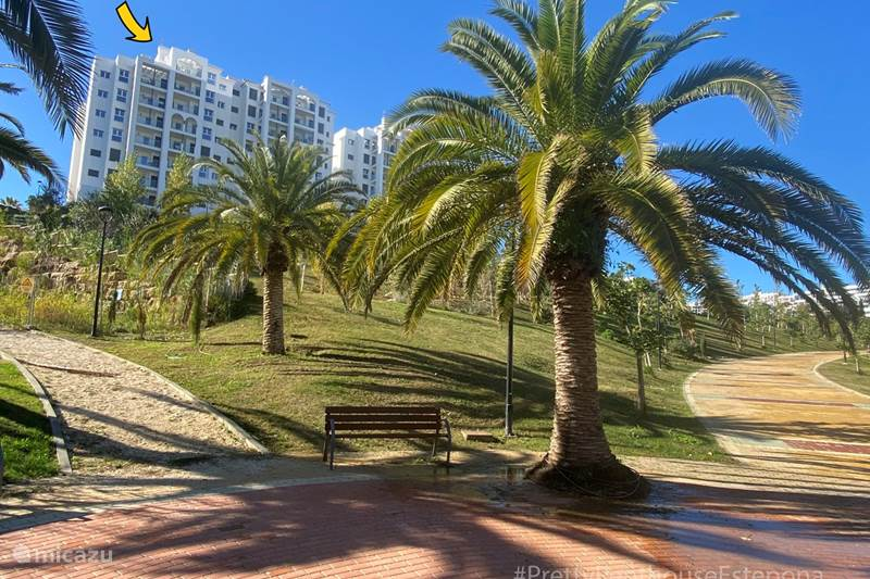 Vakantiehuis Spanje, Costa del Sol, Estepona Penthouse Pretty Penthouse Estepona