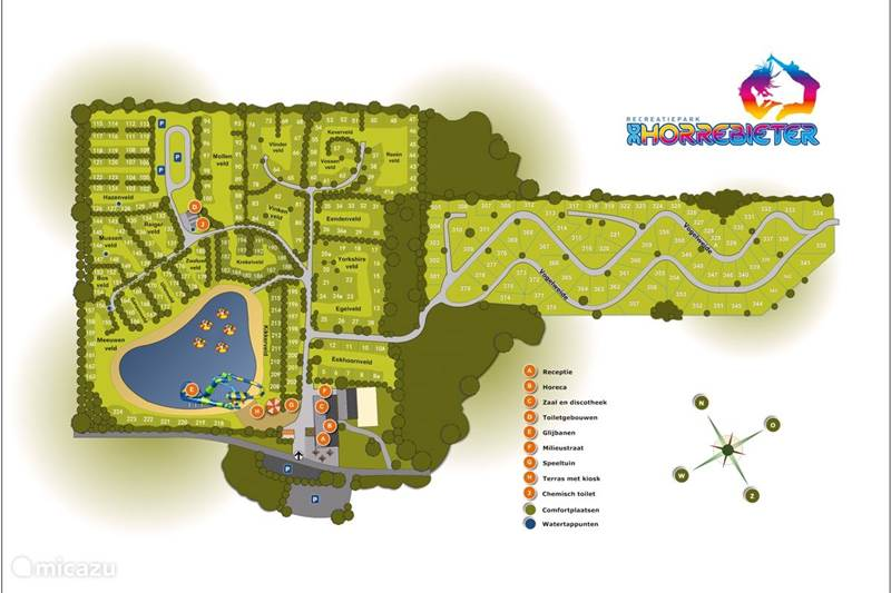 Vakantiehuis Nederland, Drenthe, Hoogersmilde Chalet Vogelweide 329