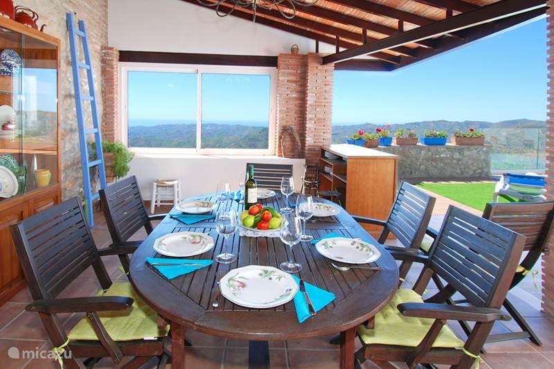 Vakantiehuis Spanje, Costa del Sol, Comares Vakantiehuis Casa Del Castillo