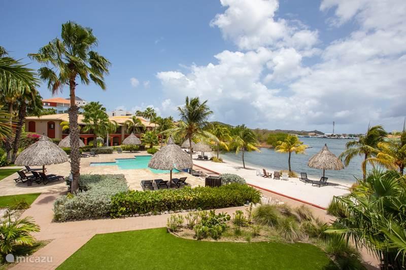 Ferienwohnung Curaçao, Banda Ariba (Ost), Spaanse Water Appartement Luxuswohnung mit Meerblick