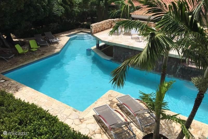 Vacation rental Curaçao, Banda Ariba (East), Cas Grandi Apartment Cocobana apartments at the swimming pool