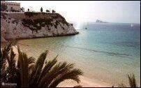 Strand bij Benidorm