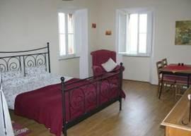 Slaapgedeelte appartement Due