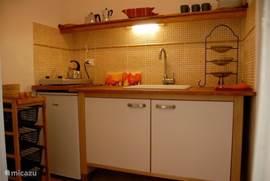 Keukentje appartement Due