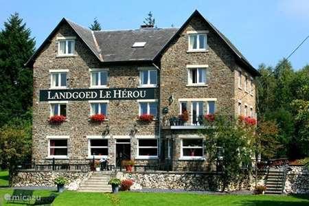 Vacation rental Belgium, Ardennes, Nisramont-La Roche-en-Ardenne  manor / castle Ardennes Landgoed Le Herou ****