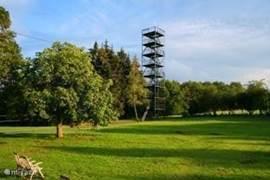 30 m hoge Uitkijktoren met het mooiste uitzicht over de schitterende Ardennen!