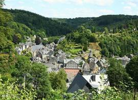 Monschau from the ring