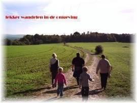 Lekker wandelen in de omgeving