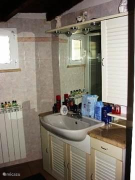 badkamer: douche,bidet,toilet