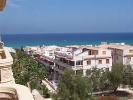 prachtig uitzicht op de zee van onze balkons