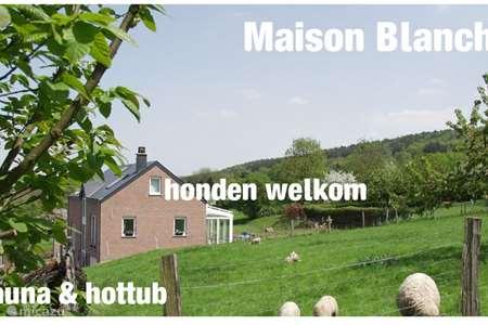 Vakantiehuis België, Ardennen, Heyd - vakantiehuis Maison Blanche