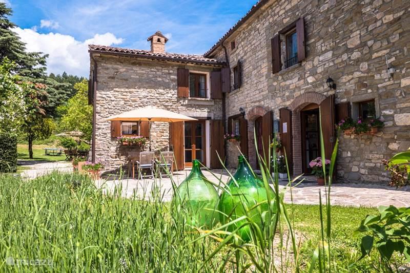 Vakantiehuis Italië, Umbrië, Pietralunga Studio Casale il Sogno, appartement Rosso