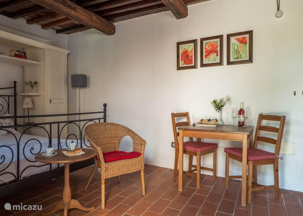 Vakantiehuis Italië, Umbrië, Pietralunga Landhuis / Kasteel Casale il Sogno, appartement Rosso