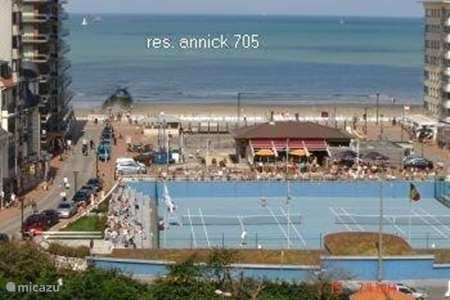 Vacation rental Belgium, Belgian Coast, Westende - apartment Annick 705