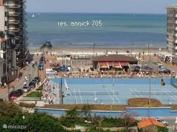 Vacation Rental Belgium, Belgian Coast, Westende Bad Apartment Annick 705  ...