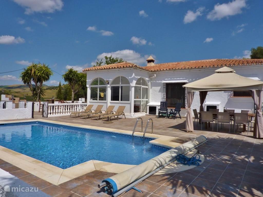 Vakantiehuis Spanje, Andalusië, Almogía villa Casa Carisma