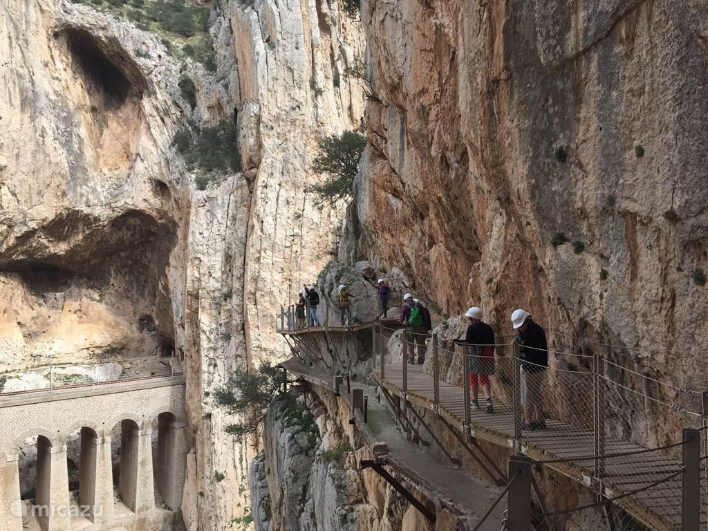 Camino del rey: prachtige wandeling in de omgeving