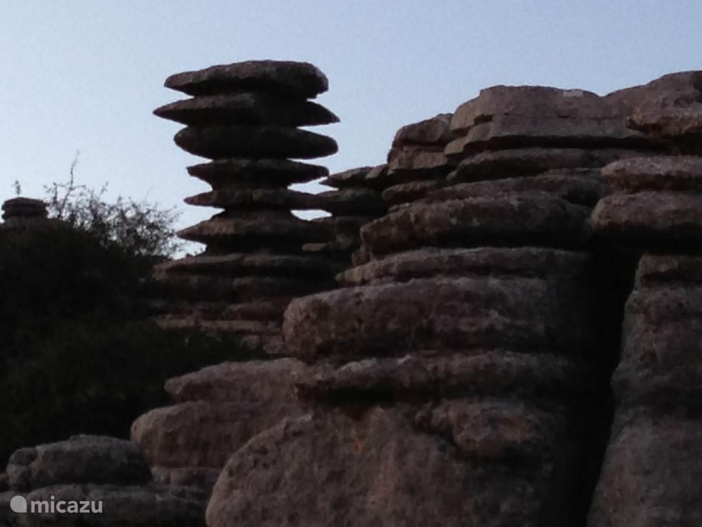 El Torcal: prachtig natuurpark in de omgeving