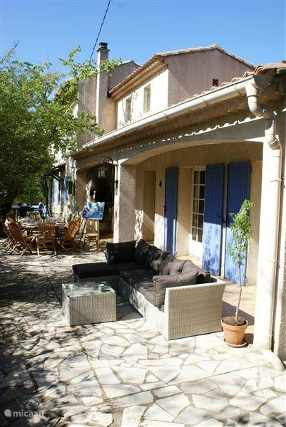Vacation rental France, Languedoc-Roussillon, Salazac villa Holiday Rust Southern France