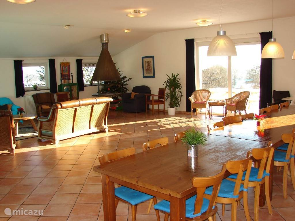 Very spacious and practical house for 20 people. 9 bedrooms, wheelchair accessible