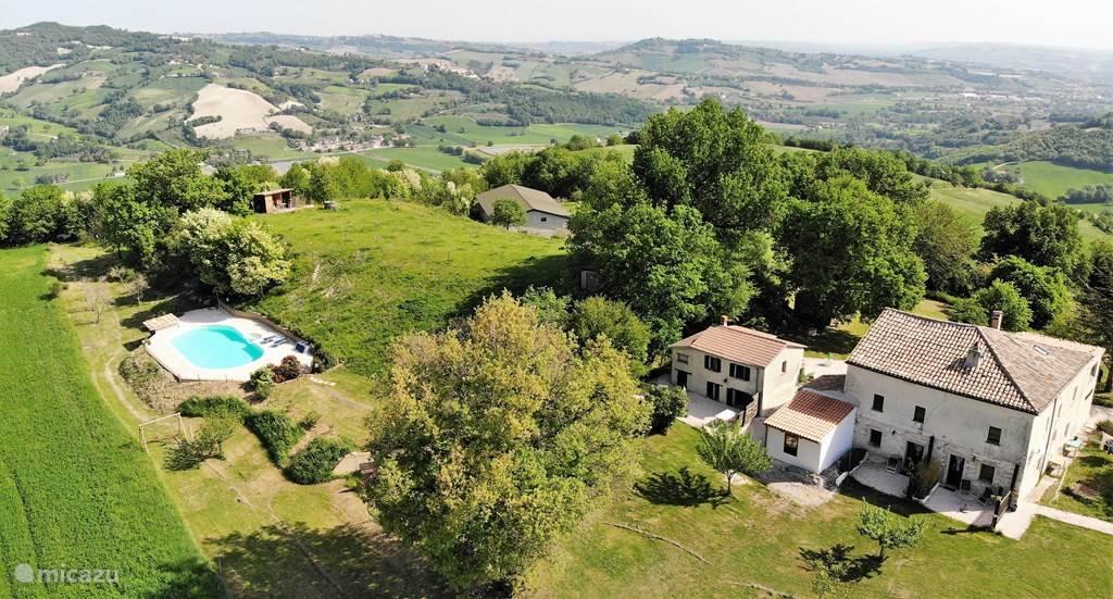 Vakantiehuis Italië, Marche, San Vito sul Cesano - studio San Vicino