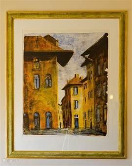 Kunst aan de muur: SIENA